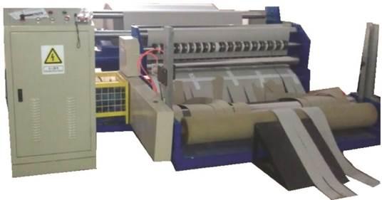 Бобинорезальная машина для резки крафт-бумаги серии Craft - бобинорезка. Фотография 1.