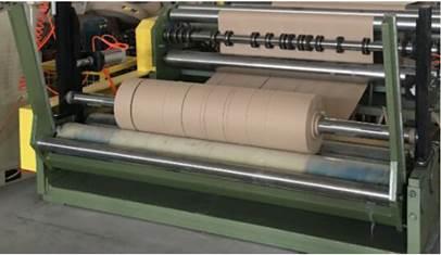 Бобинорезальная машина для резки крафт-бумаги серии Craft - бобинорезка. Фотография 8.