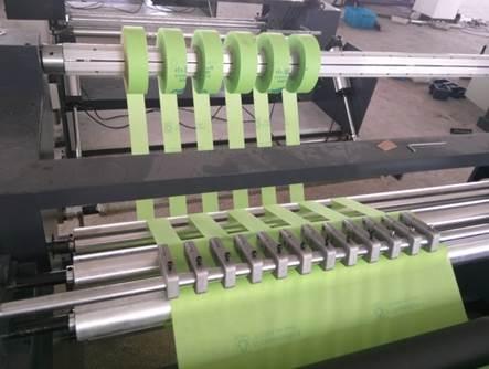 Описание: Бобинорезка серии NW для нетканых материалов – бобинорезальная машина - 4