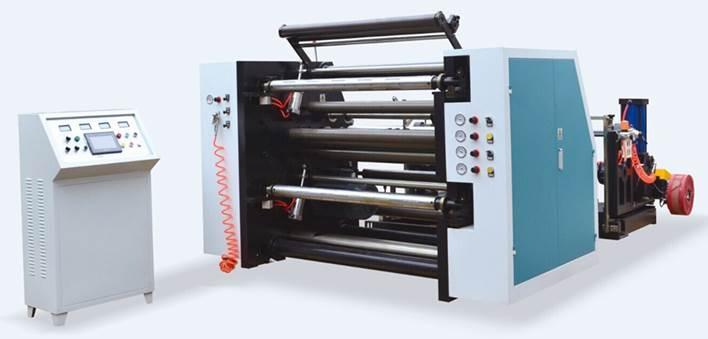 Бобинорезальная машина для резки нетканных, тканных и других материалов NW-S. Фотография -19