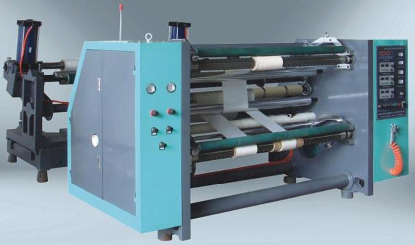 Бобинорезальная машина для резки нетканных, тканных и других материалов NW-S.Фотография -1