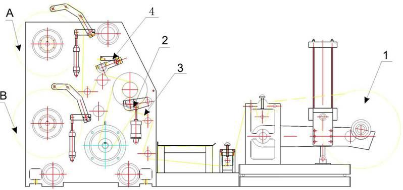 Бобинорезальная машина для резки нетканных, тканных и других материалов NW-S. Фотография -6