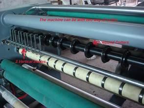 Бобинорезальная машина для резки нетканных, тканных и других материалов NW-S. Фотография -8