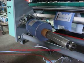 Бобинорезальная машина для резки нетканных, тканных и других материалов NW-S. Фотография -12
