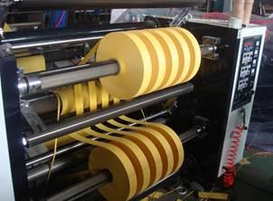 Бобинорезальная машина для резки нетканных, тканных и других материалов NW-S. Фотография -13