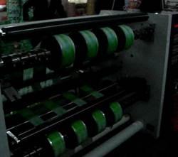 Бобинорезальная машина для резки нетканных, тканных и других материалов NW-S. Фотография -14