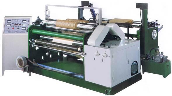 Бобинорезательная машина горизонтального контактного типа для нарезки узких роликов шириной от 5-10 мм серий BFQ и BFQ-speed. Фото 1.