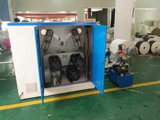 Бобинорезательная машина горизонтального контактного типа для нарезки узких роликов шириной от 5-10 мм серий BFQ и BFQ-speed. Фото 4.