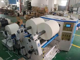 Бобинорезательная машина горизонтального контактного типа для нарезки узких роликов шириной от 5-10 мм серий BFQ и BFQ-speed. Фото 6.