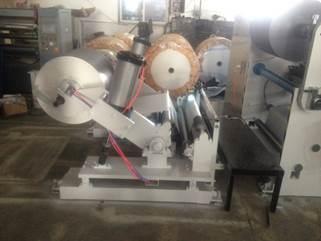 Бобинорезательная машина горизонтального контактного типа для нарезки узких роликов шириной от 5-10 мм серий BFQ и BFQ-speed. Фото 9.