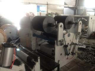 Бобинорезательная машина горизонтального контактного типа для нарезки узких роликов шириной от 5-10 мм серий BFQ и BFQ-speed. Фото 10.