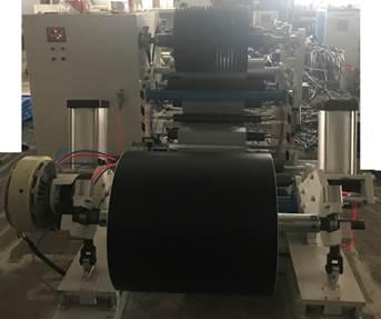 Бобинорезательная машина горизонтального контактного типа для нарезки узких роликов шириной от 5-10 мм серий BFQ и BFQ-speed. Фото 11.