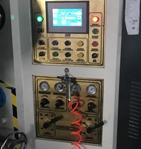 Бобинорезательная машина горизонтального контактного типа для нарезки узких роликов шириной от 5-10 мм серий BFQ и BFQ-speed. Фото 12.