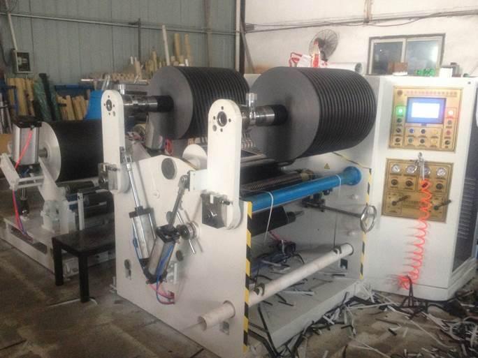 Бобинорезательная машина горизонтального контактного типа для нарезки узких роликов шириной от 5-10 мм серий BFQ и BFQ-speed. Фото 13.