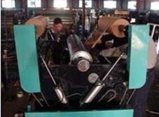 Бобинорезательная машина горизонтального контактного типа для нарезки узких роликов шириной от 5-10 мм серий BFQ и BFQ-speed. Фото 19.