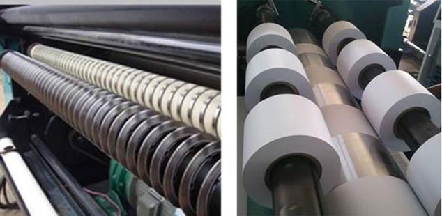 Бобинорезательная машина горизонтального контактного типа для нарезки узких роликов шириной от 5-10 мм серий BFQ и BFQ-speed. Фото 21.