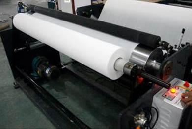 Бобинорезальная машина для резки спанбонда и других нетканных материалов шириной до 1800 мм. Фотография 5.