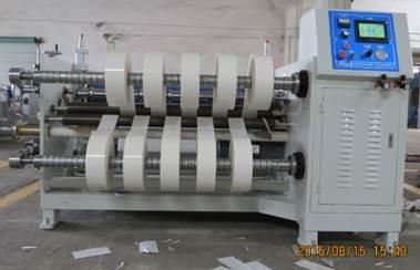 Описание: Бобинорезальная машина DK-Scotch для резки скотча, пленки, бумаги и ламинированных материалов - фото -1