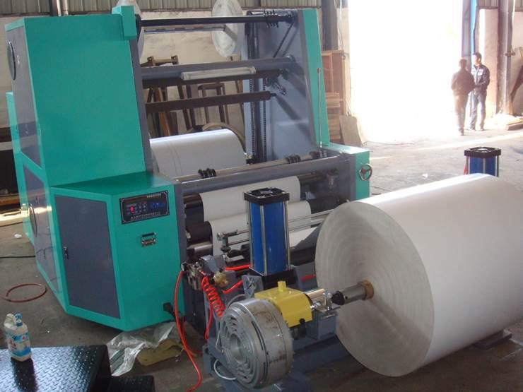 Бобинорезальная машина DK-W - скоростная бобинорезка, фотография 4