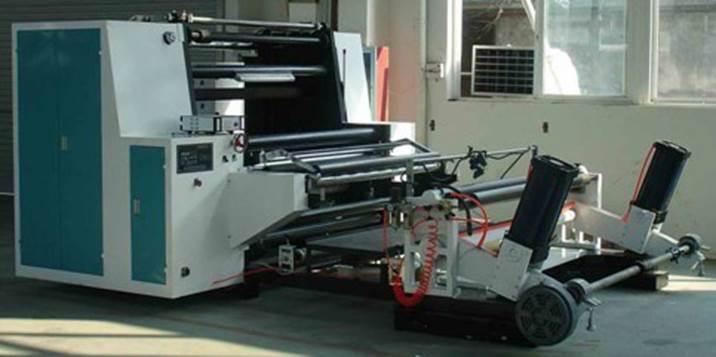 Бобинорезальная машина DK-W - скоростная бобинорезка, фотография 6