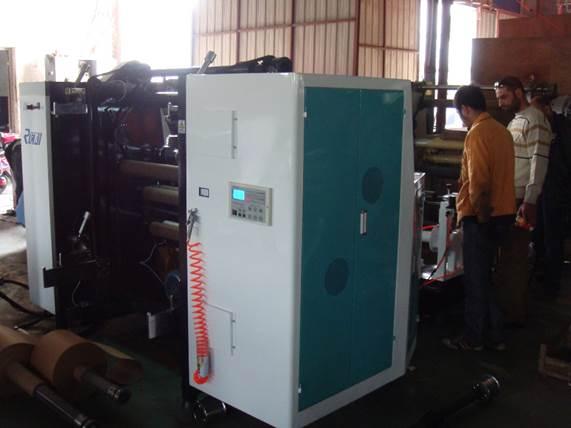 Бобинорезальная машина DK-W - скоростная бобинорезка, фотография 8