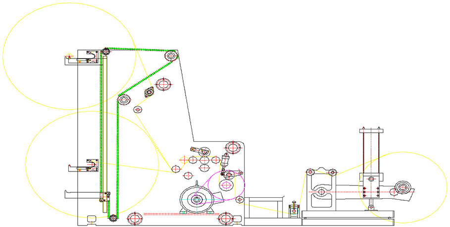 Бобинорезальная машина DK-W - скоростная бобинорезка, фотография 9