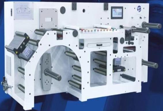Узкорулонная инспекционная и контрольно-счётная машина серии EM-Speed. Фотография 1.