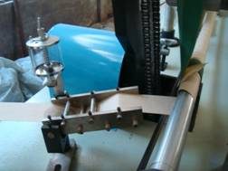 Машина для навивки туб для туалетной бумаги и салфеток -5