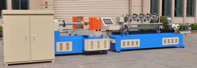 Машина для навивки и нарезки туб, втулок и шпулей и автоматической их нарезки на отрезки - диаметр туб 20 – 120 мм - 1