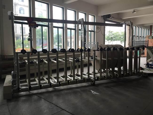 Машина для навивки и нарезки туб, втулок и шпулей и автоматической их нарезки на отрезки - диаметр туб 10 – 200 мм, толщина стенки 1-10 мм. Фото 4.