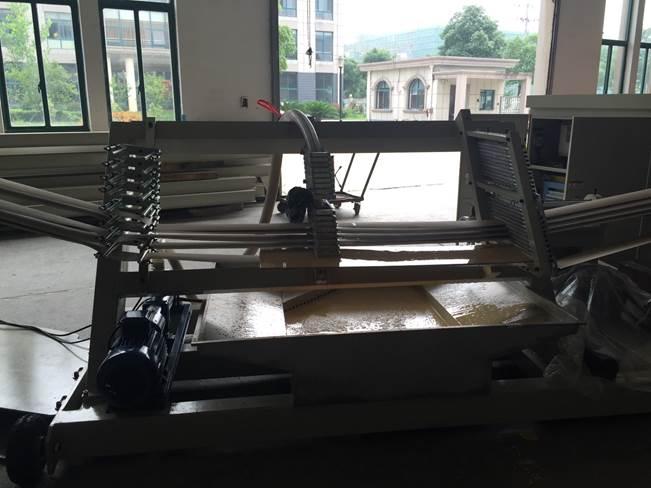 Машина для навивки и нарезки туб, втулок и шпулей и автоматической их нарезки на отрезки - диаметр туб 10 – 200 мм, толщина стенки 1-10 мм. Фото 5.