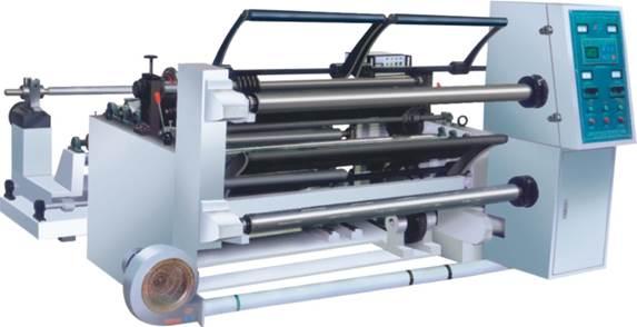 Бобинорезальная машина WFQ-1500-PVC для резки жесткого ПВХ - бобинорезка - первая фотография