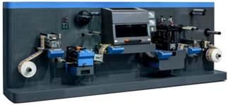 Рулонная машина лазерной высечки DKG-350-230-Laser. Фотография первая.