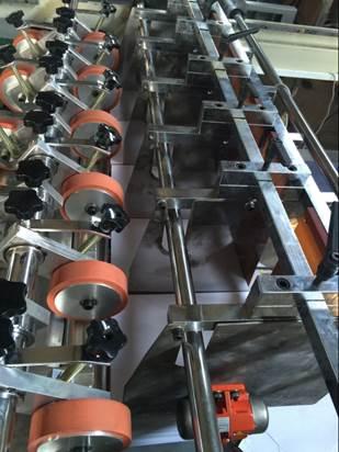 Cкоростная листорезательная машина серии DFJ - листорезка - флаторезка. Фотография 18.