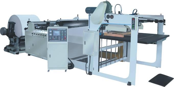 Cкоростная листорезательная машина серии DFJ - листорезка - флаторезка. Фотография 1.