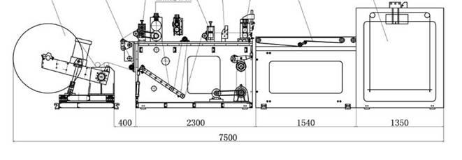 Cкоростная листорезательная машина серии DFJ - листорезка - флаторезка. Фотография 15.