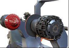 Скоростная ротационная листорезальная машина GM-1400 с несколькими размоточными валами (листорезка - флаторезка). Фотография 4.