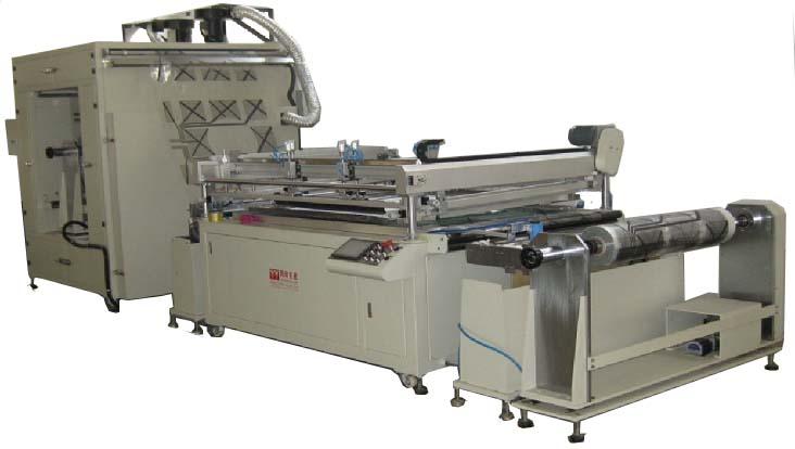 Рулонные машины шелкографской печати модульного построения серии DR