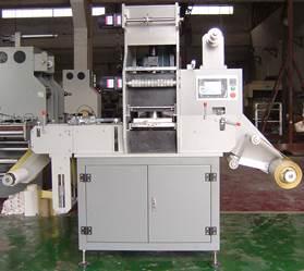 Рулонная машина плоского тиснения и высечки MQ-320 - Первая фотография - картинка