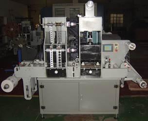 Рулонная машина плоского тиснения и высечки MQ-320 - Вторая фотография - картинка