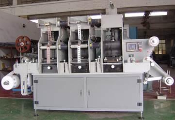 Рулонная машина плоского тиснения и высечки MQ-320 - Третья фотография - картинка