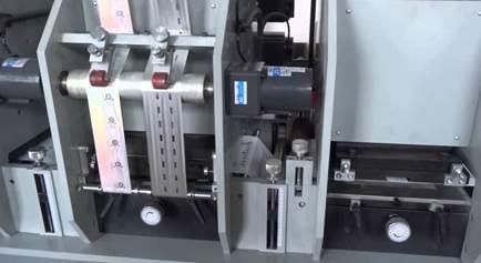 Рулонная машина плоского тиснения и высечки MQ-320 - 5 фотография - картинка