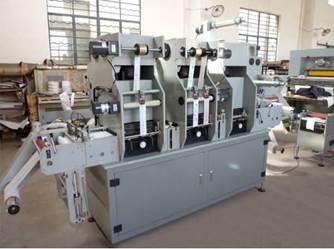 Рулонная машина плоского тиснения и высечки MQ-320 - 7 фотография - картинка